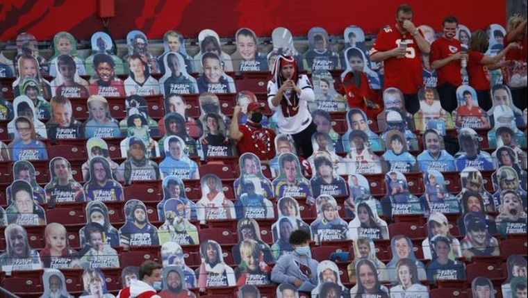 FOTO: Pudieron asistir únicamente 22 mil espectadores por la pandemia (USA Today Sports)