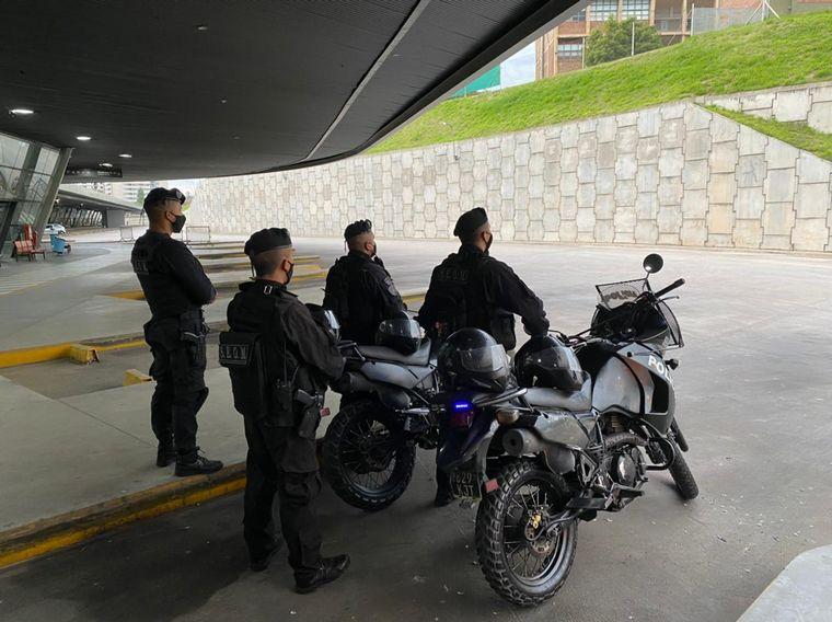 FOTO: Operativo de Seguridad en la Terminal de Córdoba para los interurbanos