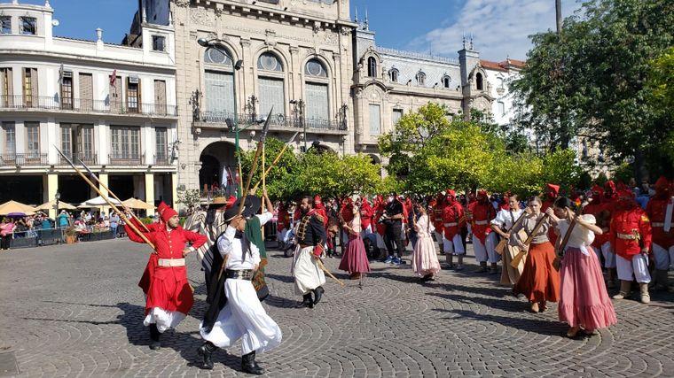 AUDIO: Unos 500 gauchos homenajearon a Güemes en Salta