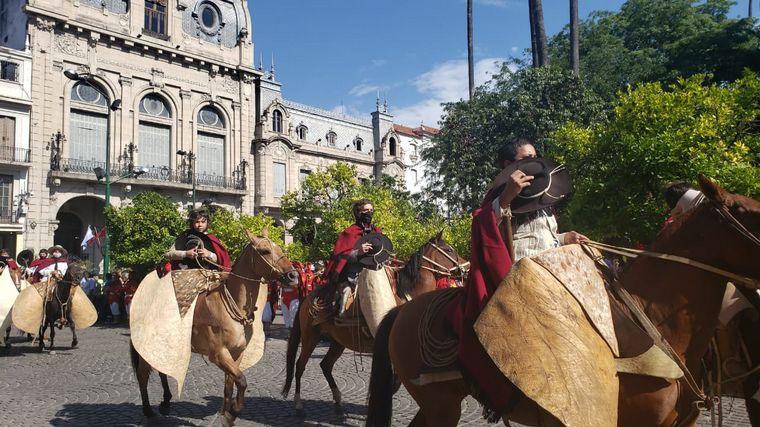 desfile gauchos fortines