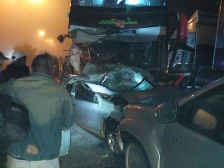 FOTO: Accidente fatal en San Luis