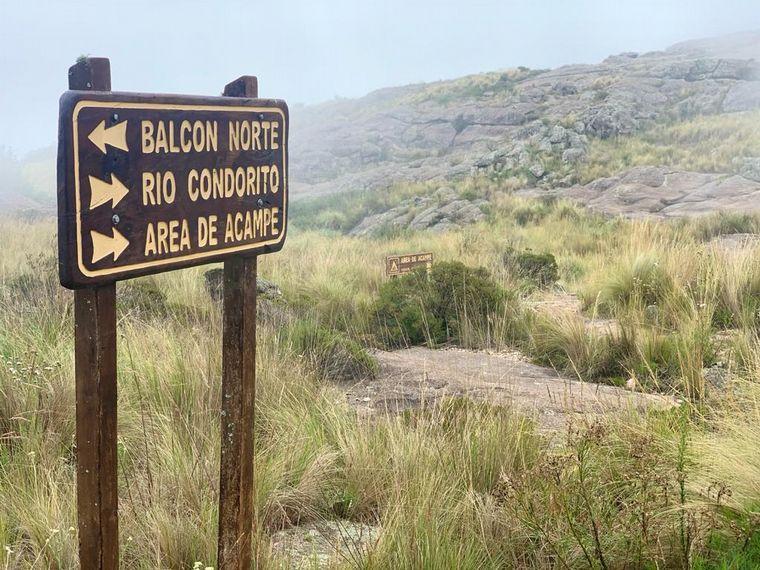 FOTO: Balcón norte en la Quebrada del Condorito