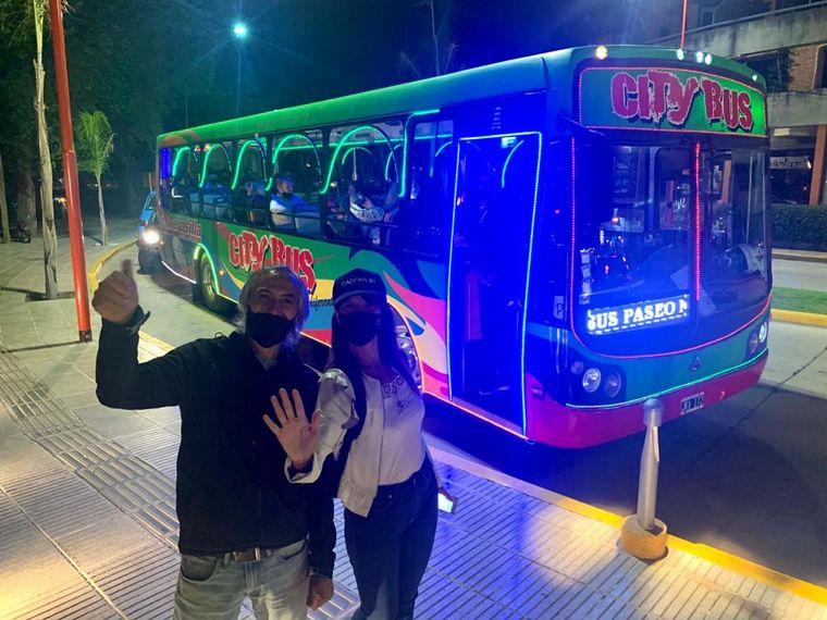 AUDIO: El divertido city tour por Carlos Paz con música y baile