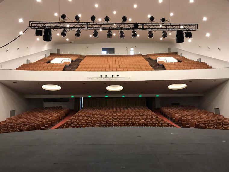 FOTO: Cine Teatro Municipal Sierras, emblema cultural de Alta Gracia
