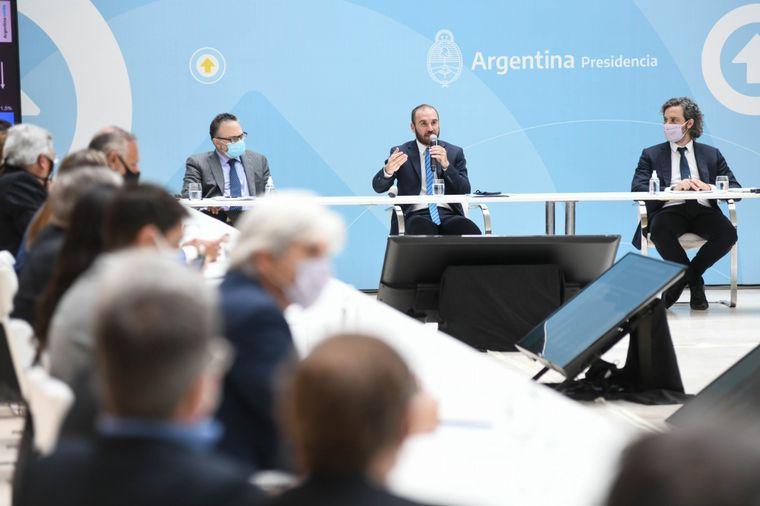 AUDIO: El Gobierno se reunió con empresarios por el acuerdo de precios