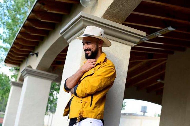 FOTO: Abel Pintos presentó