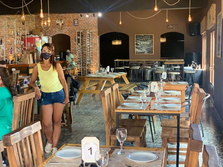 AUDIO: Exquisito almuerzo y aperitivos autóctonos en Achiras