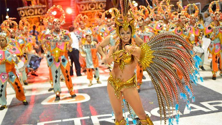 FOTO: El carnaval en el sambódromo de Río de Janeiro, Brasil.