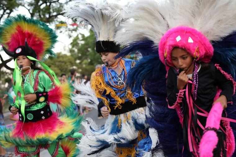 FOTO: Los carnavales de Gualeguaychú en Argentina.