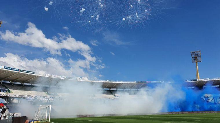 FOTO: Talleres debutó con victoria ante Patronato en el Kempes