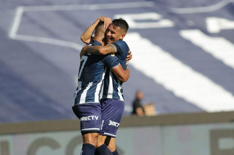 AUDIO: 1° gol de Talleres (Carlos Auzqui)