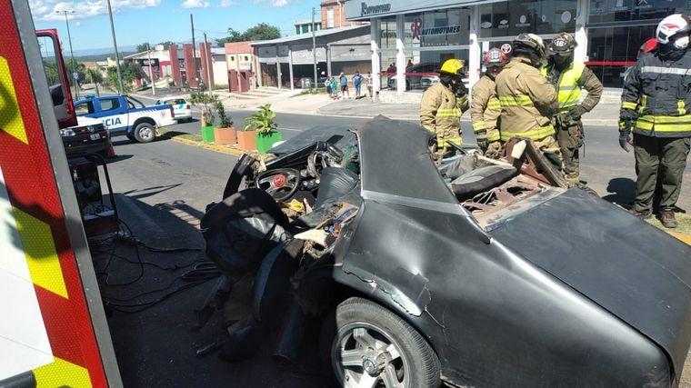 FOTO: Impresionante accidente fatal en La Falda.