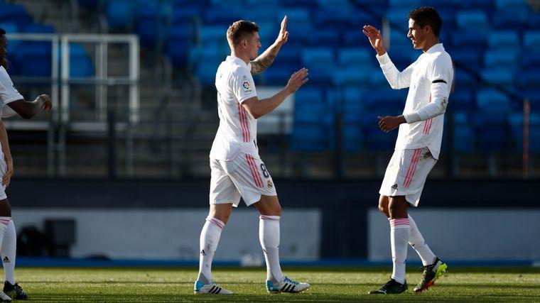 FOTO: Real Madrid se enfrentó al Valencia para escalar en la tabla