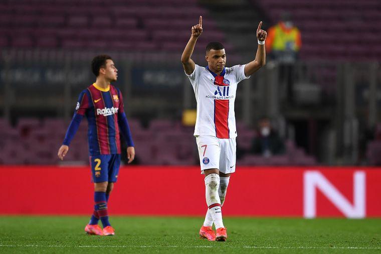 FOTO: PSG goleó al Barcelona en el Camp Nou.