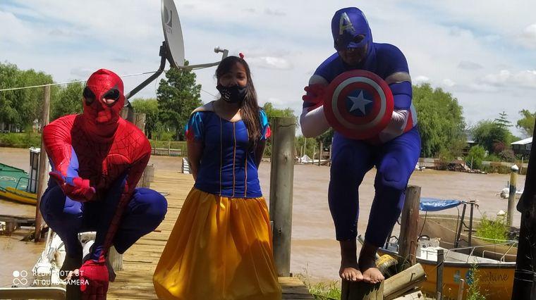 AUDIO: Juntaron útiles y los llevaron para chicos de las islas del Delta del Paraná