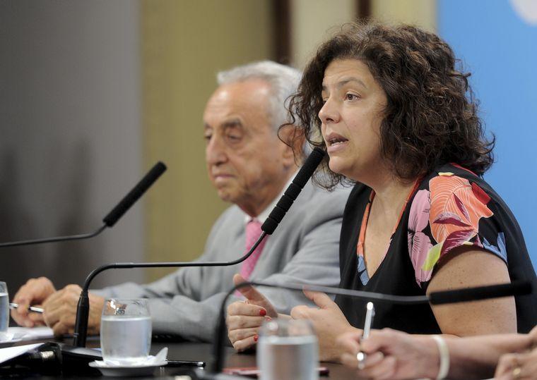 FOTO: Carla Vizzotti es la nueva ministra de Salud de la Nación