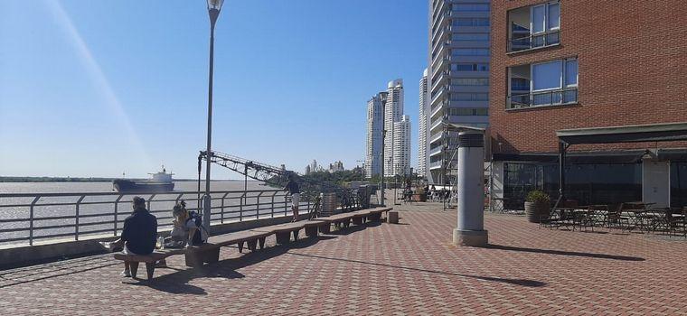 FOTO: El Puerto Norte en Rosario, una atractiva joyita en Santa Fe para disfrutar