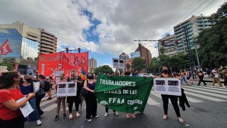 FOTO: Marcha para pedir justicia por el crimen de Ivana Módica.