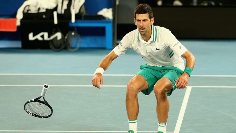 FOTO: Djokovic conquistó su novelo Abierto de Australia.