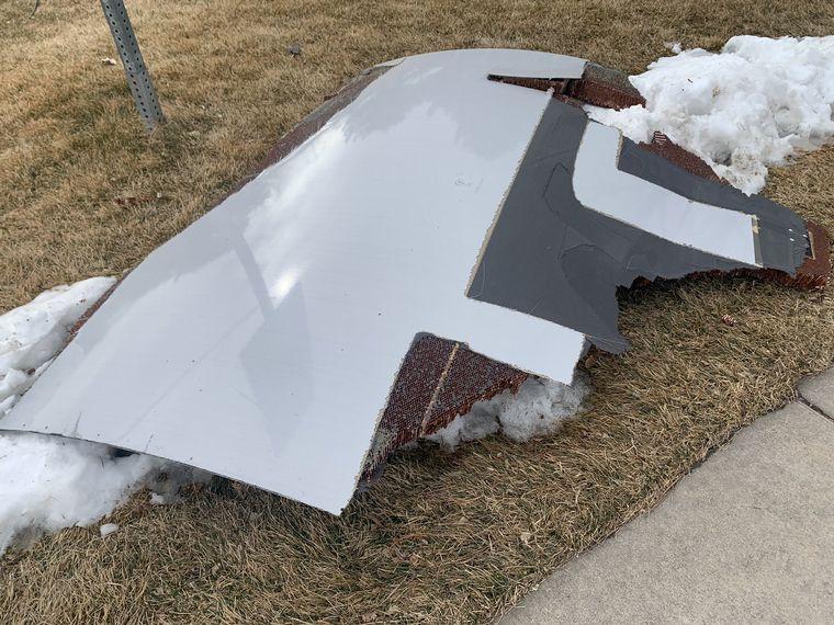 FOTO: El vuelo debió regresar al aeropuerto local por un problema en el motor.