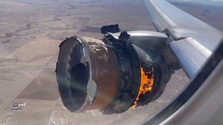 Boeing recomienda dejar en tierra aviones 777 tras incidente