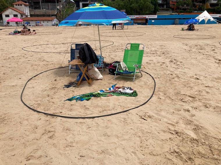 FOTO: Playa La Florida, el popular balneario de Rosario