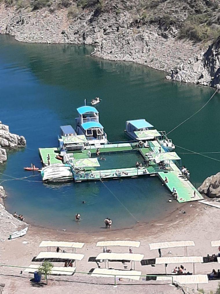 FOTO: Cañón del Atuel, una belleza turística de San Rafael