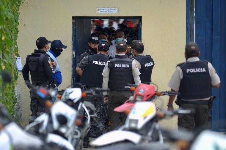 FOTO: Más de 70 muertos por motines en cárceles de Ecuador (Foto: EFE).