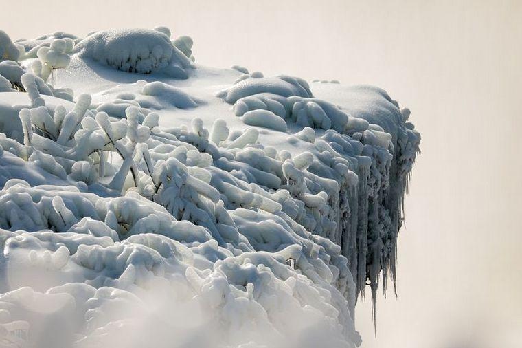 FOTO: Increíbles imágenes de las Cataratas del Niágara convertidas en hielo (Foto: Reuters)