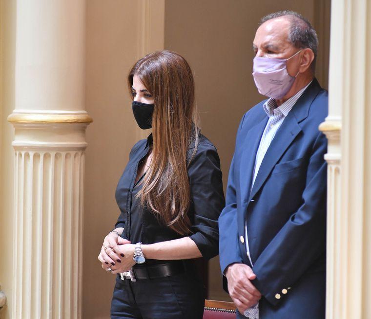 FOTO: El ex ministro de Hacienda de La Rioja, Ricardo Guerra, asume la banca de Menem