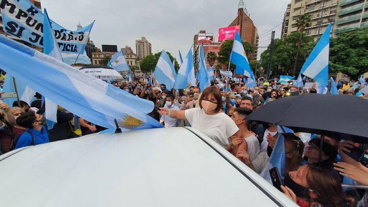 FOTO: Marcha en Córdoba por las vacunas VIP