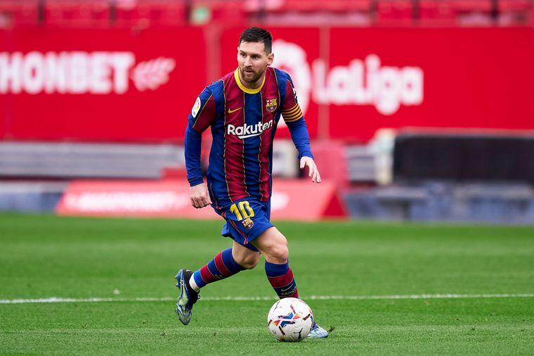 FOTO: Con un gol de Messi, el Barcelona superó al Sevilla
