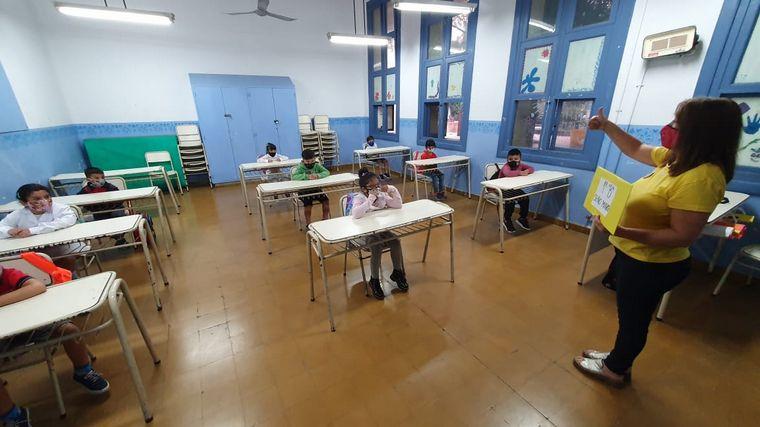 FOTO: La vuelta a clases presenciales, en imágenes.