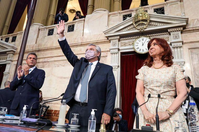 AUDIO: Alberto Fernández impulsa una