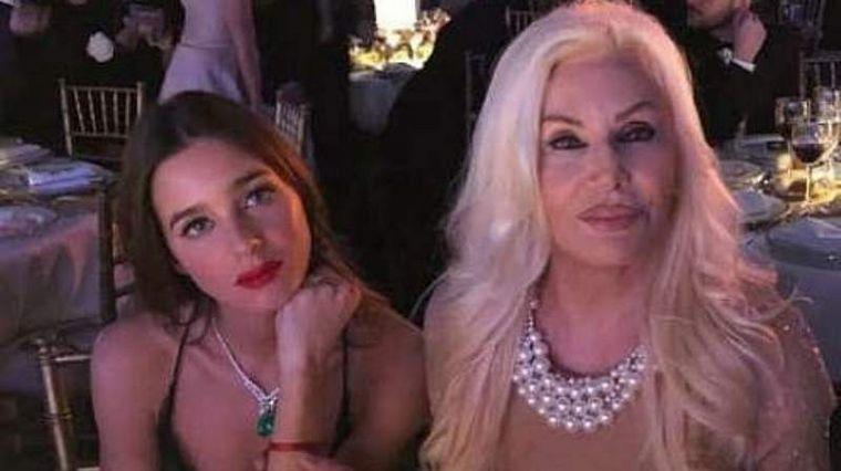 FOTO: Susana Giménez y su nieta Lucía Celasco