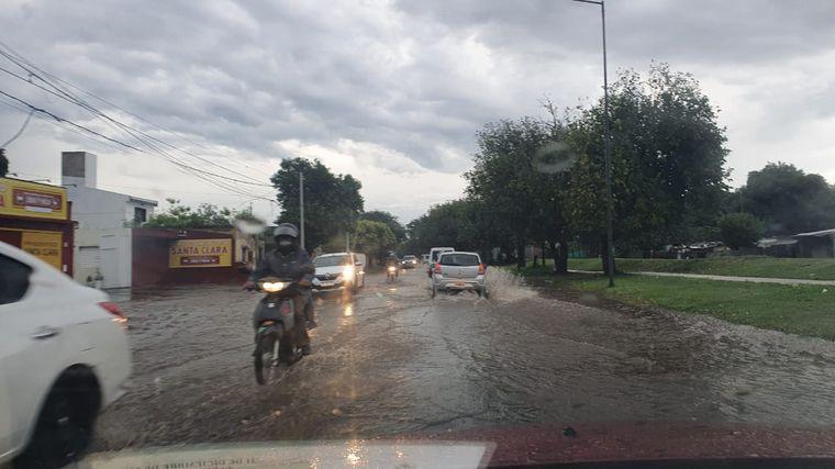 FOTO: Alerta por tormentas fuertes para Córdoba.