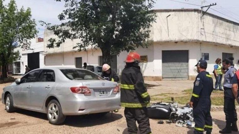 FOTO: Chocó y mató: cuando se bajó, se dio cuenta que era su hijo