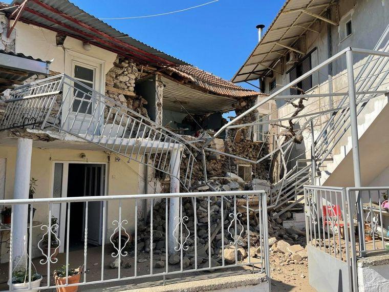FOTO: Un sismo de 6,3 grados sacudió Grecia (Foto: @El_Universal_Mx)