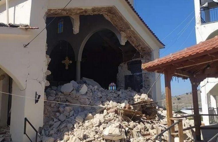 FOTO: Un sismo de 6,3 grados sacudió Grecia (Foto: @AlertaCambio)