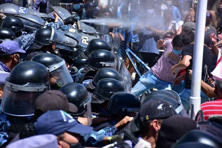 AUDIO: Incidentes en Formosa por el regreso a la Fase 1