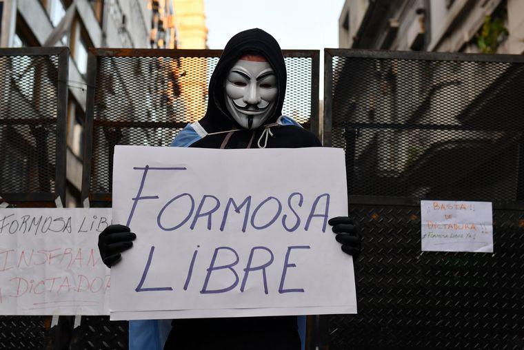 FOTO: Fuerte repudio por el accionar de la policía en Formosa