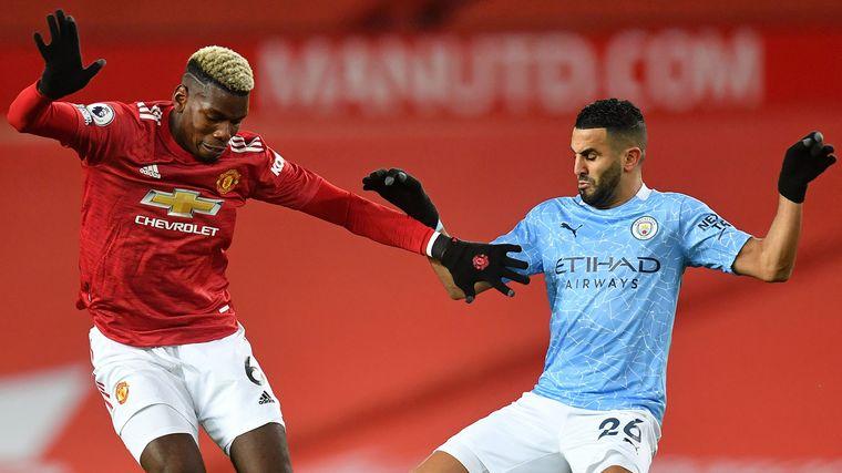 FOTO: Manchester United venció al City en el clásico y cortó su racha.