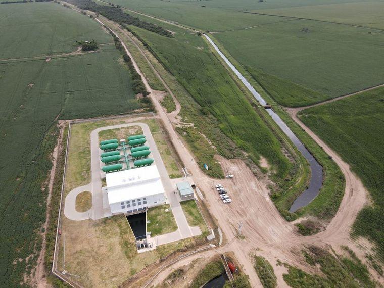 FOTO: La obra garantizará agua potable al 30% de la población cordobesa