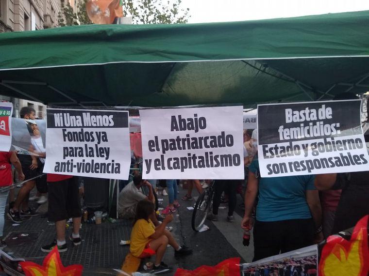 FOTO: Movilización en Buenos Aires.