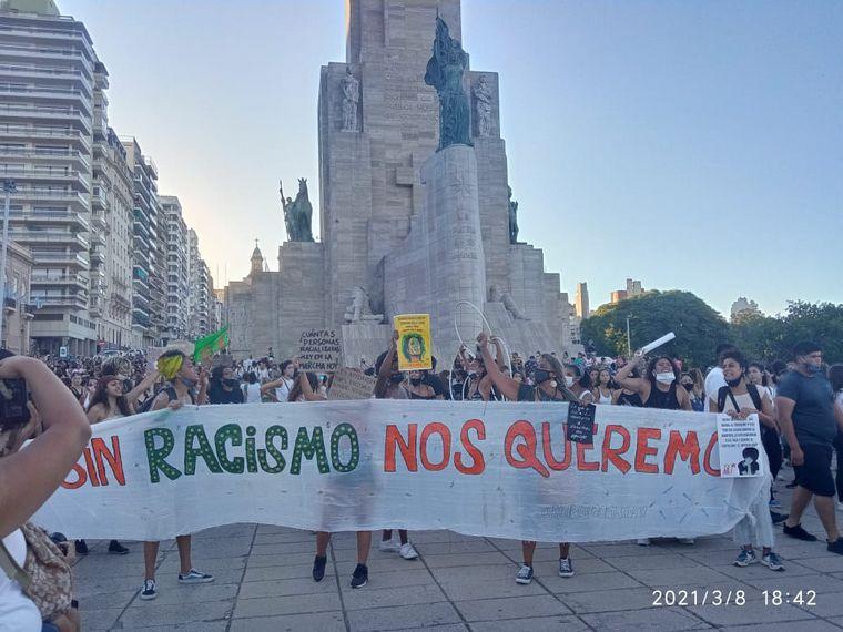 FOTO: Movilización en Rosario.