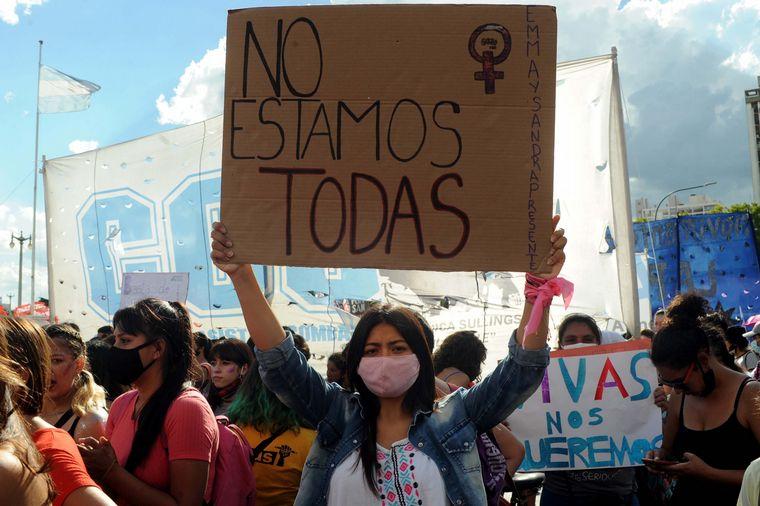 FOTO: Movilizaciones en todo el país en contra de la violencia de género.