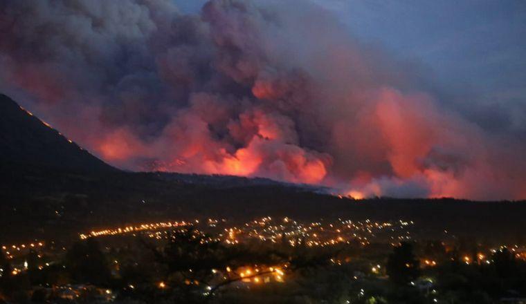 AUDIO: El intendente de Lago Puelo habló de las pérdidas: 200 casas quemadas
