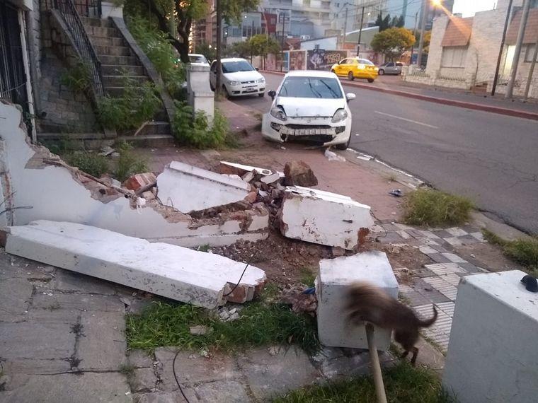 AUDIO: Terrible colisión en Córdoba dejó viviendas sin luz ni agua