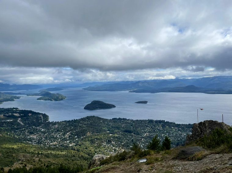 FOTO: Agus Vivanco en el Cerro Otto