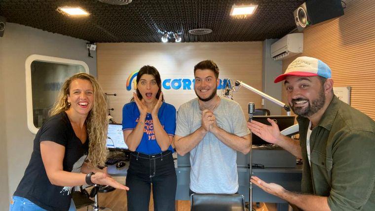 FOTO: Flor Ferrero y Fran Reale se suman a los sábados de FM Córdoba.
